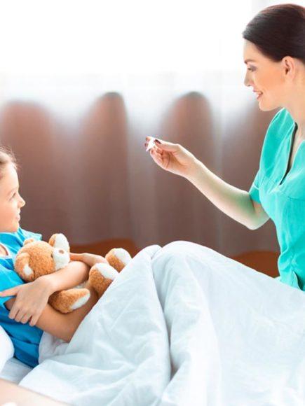 Máster en Atención Pediátrica para Enfermería (Con Certificación Universitaria Internacional y Reconocimiento de 30 ECTS)